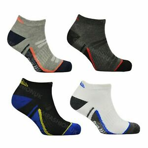 3 Pairs Mens Trainer Socks Adults Sports Running Gym Liner Ankle Sock Size 6-11
