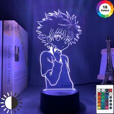 NEW 3D Night Lamp Anime Hunter X Hunter for Kids Child Bedroom Decor Nightlight