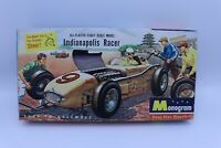 Monogram 1:24 Scale Indianapolis Racer Indy 500 Boxed Model Kit Vintage Rare