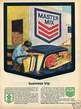 1964 Print Ad of Central Soya McMillen Feed Division Master Mix Feed Store