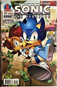 SONIC The HEDGEHOG Comic Book #222 April 2011 First Edition Bagged Boarded NM