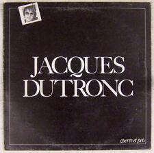 Jacques Dutronc 33 tours interprète Serge Gainsbourg 1980