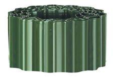 DURABLE PLASTIC LAWN EDGING IN GREEN 9.1CM X 16.5CM