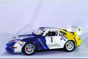 1:18 Anson Porsche GT2 Race #1 Mobil