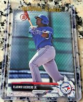 VLADIMIR GUERRERO JR 2017 Bowman Rookie Card RC Blue Jays .381 BA 20 HRs 78 RBIs