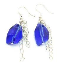 Pendientes de bisutería pendiente corto color principal azul
