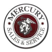 Mercury Cars Sales and Service Design Reproduction Circle Aluminum Sign