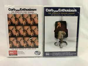 Curb Your Enthusiasm - The Complete First & Second Season - DVD - Region 4