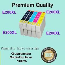 10x Ink Cartridges 200XL T2001 for Epson XP-100 XP-200 XP-300 XP-400 Printers