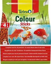 Aliment pour Poissons de bassin Tetra Pond Colour Sticks- 4 litres Z396104