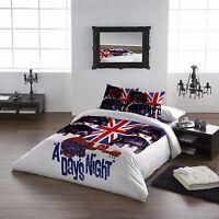The Beatles HARD DAYS NIGHT - Duvet Cover and Pillowcase Set / UK Double