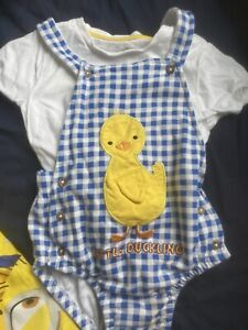 Duck Romper Boys 18-24months Worn Once For Easter Egg Hunt.