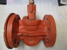 """RESUN HUBER D251 2"""" PLUG VALVE WITH LUB & BUTTON HD FITTING """"New"""""""