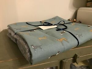 Sophie Allport SPEEDY DOGS Whippet/Greyhound/Lurcher Dog Bed Blanket/Mat