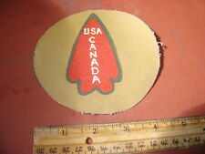 WWII US ARMY FIRST SPECIAL SERVICE FORCE   JACKET  PATCH