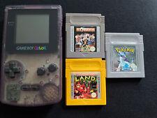 Nintendo Game Boy Color Handheld-Spielkonsole - Klar Mit Pokémon Spiel
