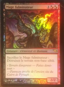 Mage Fulminateur VF PREMIUM / FOIL - French Fulminator Mage - Magic mtg