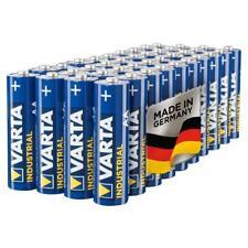 40 X Varta AA Industrial Battery  Mignon Alkaline Batteries LR6 Blue New