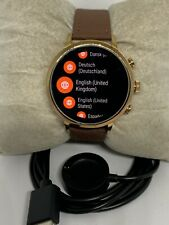 Fossil Gen 4 Authentic Digital Dial Smart Watch Custom Band FTW6018 ZA770