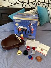 """Mr. Christmas Gold Label """"Teddy Takes Requests."""" Piano Music Box No Rack"""
