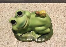 Vintage Josef Originals Japan Frog with Snail