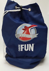 NEW CARNIVAL CRUISE VIFP BEACH TRAVEL BAG WITH ZIPPERED COOLER BOTTOM