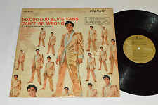 ELVIS PRESLEY Gold Records Volume 2 Fans Can't Be Wrong LP LPE-2075 Canada Tan