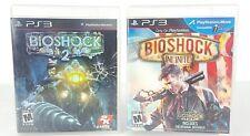PS3 Game Bundle - Bioshock 2 &  Bioshock Infinite - Both Complete VGC