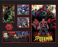 New The Amazing Spiderman Comics Limited Edition Memorabilia Framed