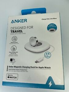 Anker Apple Watch Foldable Charging Pad (USB-C, 4ft) for 44mm 40mm 42mm 38mm SE