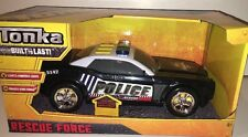 Tonka Rescue Force Lights and Sounds Police Cruiser - NEW