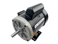 1/2 HP Farm Duty Single Phase Electric Motor 1725 RPM 56 Frame TEFC 115/230 Volt