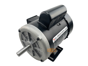 1/2 HP Farm Duty Single Phase Electric Motor 1725 RPM 56 Frame TEFC 115/230 Volt