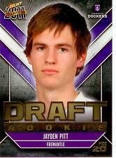 2011 Select AFL Champions Draft Rookie Card DR20: Jayden Pitt (Fremantle)