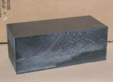 5black Polycarbonate Machine Grade Sheet Block 5x6x13