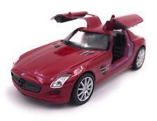 Mercedes Benz SLS AMG Coche a Escala Auto Producto de Licencia 1 :3 4-39 Rojo