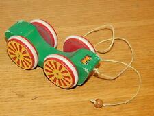 BRIO made in sweden ANCIEN JOUET en BOIS alt holz Wooden CAR WAGON old wood game