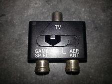 RF TV Splitter Switch Box Aerial / Antenna NES  SNES  N64  Nintendo 64