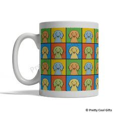 Saluki Dog Mug - Cartoon Pop-Art Coffee Tea Cup 11oz Ceramic