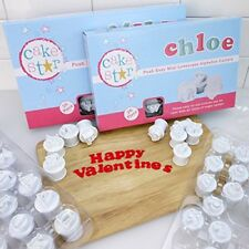 Cake Star Push Easy Mini Icing Cutters Lowercase and Uppercase Alphabet Set