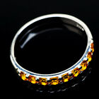 Citrine 925 Sterling Silver Ring Size 11 Ana Co Jewelry R21464