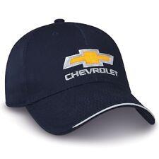 Chevrolet Gold Bowtie Navy Blue Hat
