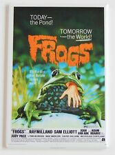 Frogs FRIDGE MAGNET (2 x 3 inches) movie poster frog horror sam elliott