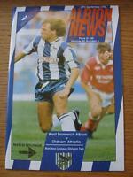 29/09/1990 West Bromwich Albion v Oldham Athletic  (Item has no apparent faults)