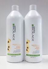 Matrix Biolage Deep Smooth Smoothing Shampoo Conditioner Liter Duo for Frizzy