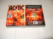 AC/DC Live At River Plate (DVD) BOX SET + T SHIRT-2011 - FASTPOST