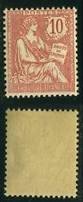 """FRANCE STAMP TIMBRE N° 124 """" TYPE MOUCHON RETOUCHE 10c ROSE 1902""""   NEUF xx TTB"""