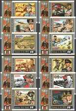 E0343 2016 CHAD SWASTIKA GERMANY IN THE WWII WORLD WAR II !!! 12BL MNH