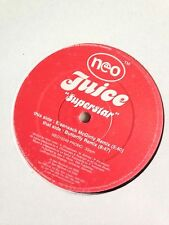 "Juice Superstar Promo 12"" Vinyl GBX Anthem DJ Techno Trance House Hardhouse Rave"