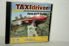 SUPER TAXI DRIVER CORSE PAZZE IN CITTA' USATO PC CD ROM VER ITALIANA GD1 47724